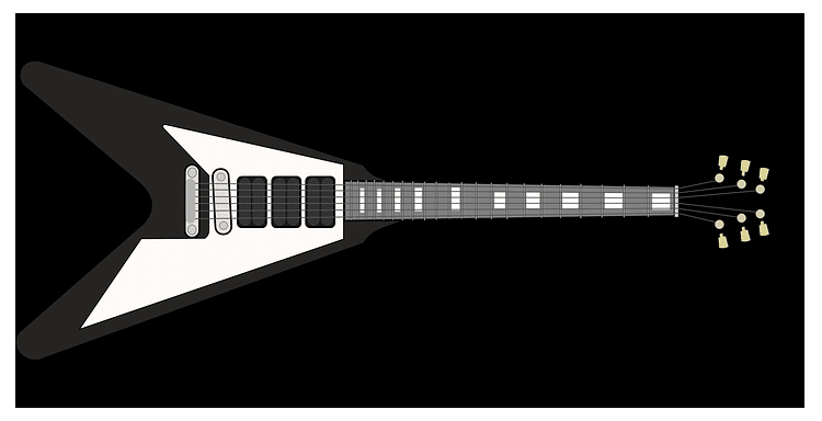 guitare-flying-V